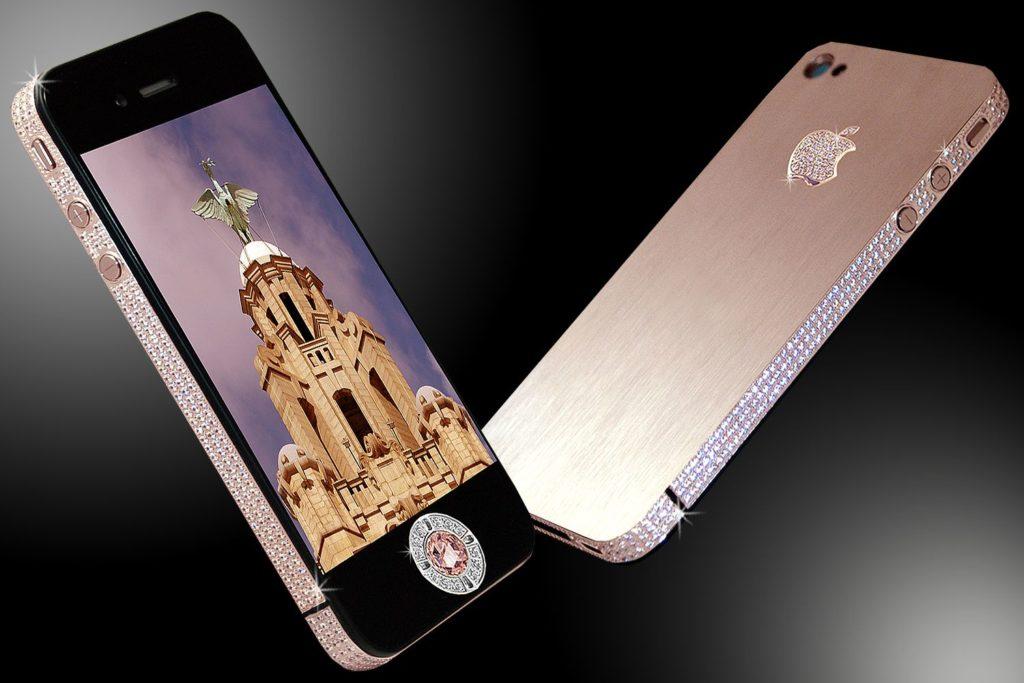 iPhone 4 Diamond Rose Edition by Stuart Hughes