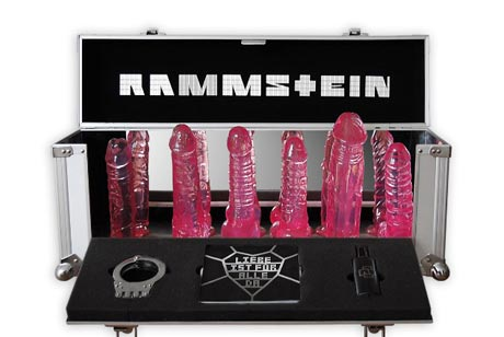 Rammstein Box Set Comes With Dildos
