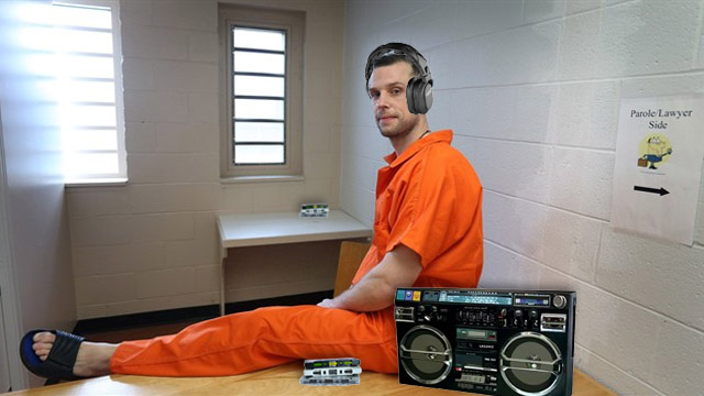 prisons keeping the cassette tape alive