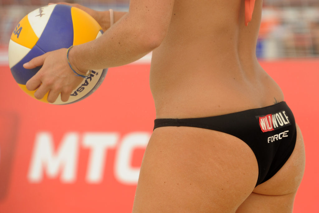 12 Hottest Volleyball Butts