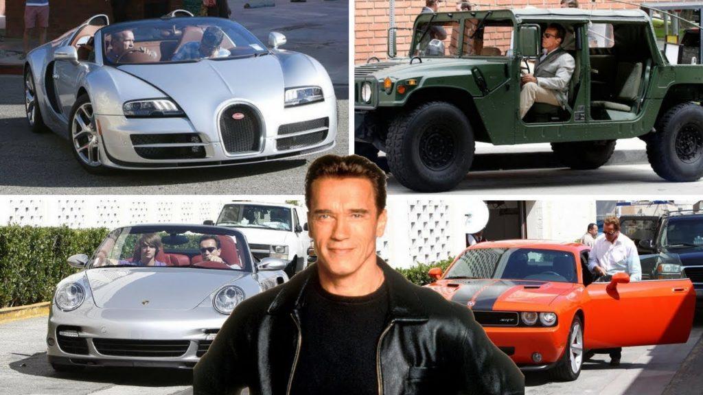 Arnold Schwarzenegger - Porsche 911