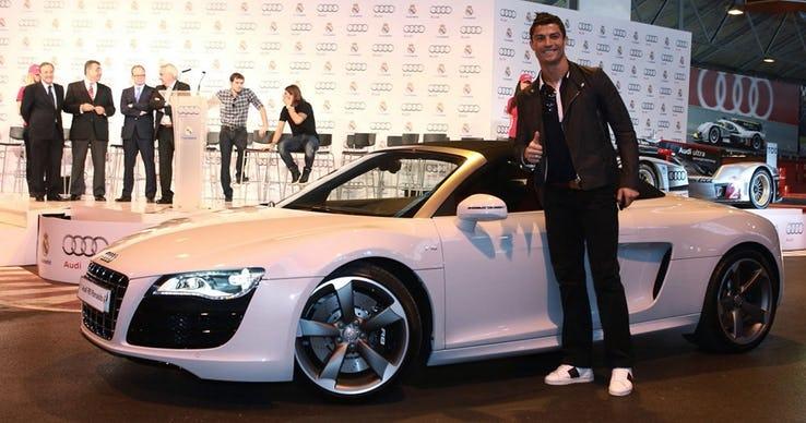 Cristiano Ronaldo – Audi R8