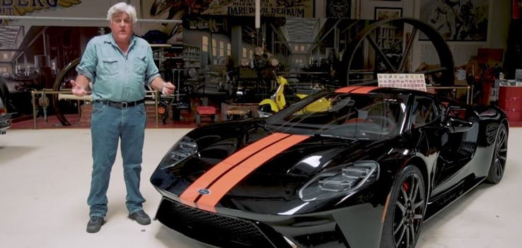 Jay Leno – Ford GT 2017