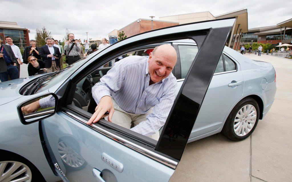 Steve Ballmer – Ford Fusion Hybrid