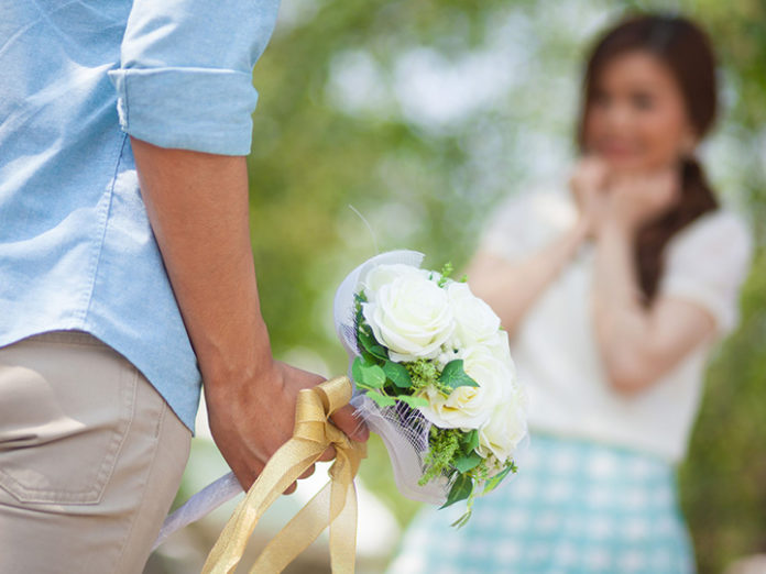 Flower gift ideas for first date