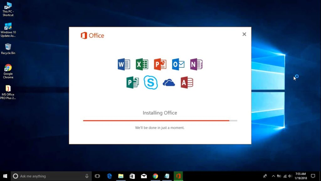 How To Quickly Install Microsoft Office On Your Pc Chart