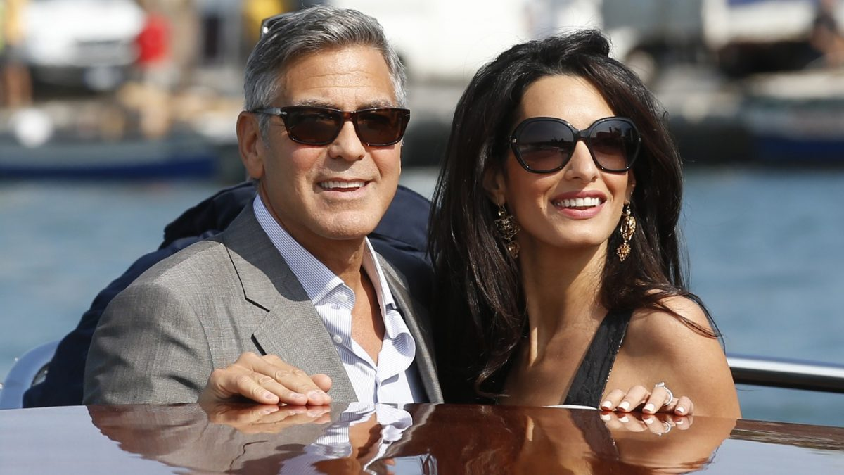 George And Amal Clooney Cough Up $120,000 For Twins